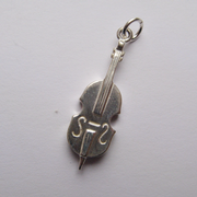 Sterling Silver Cello Charm